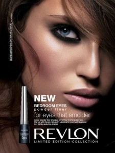Eye Makeup Review Revlon bedroom-eyes Powder Eyeliner Ad