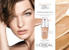 Face Makeup Review: L'Oreal True Match Liquid Foundation