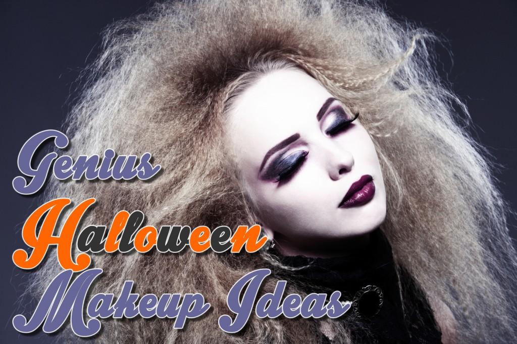 Genius Halloween Makeup Ideas