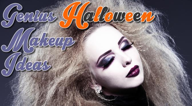 Genius Halloween Makeup Ideas Feature