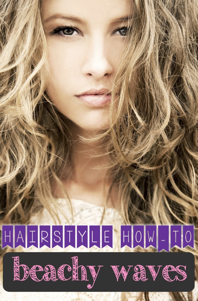 Hairstyle How To Beachy Waves Long