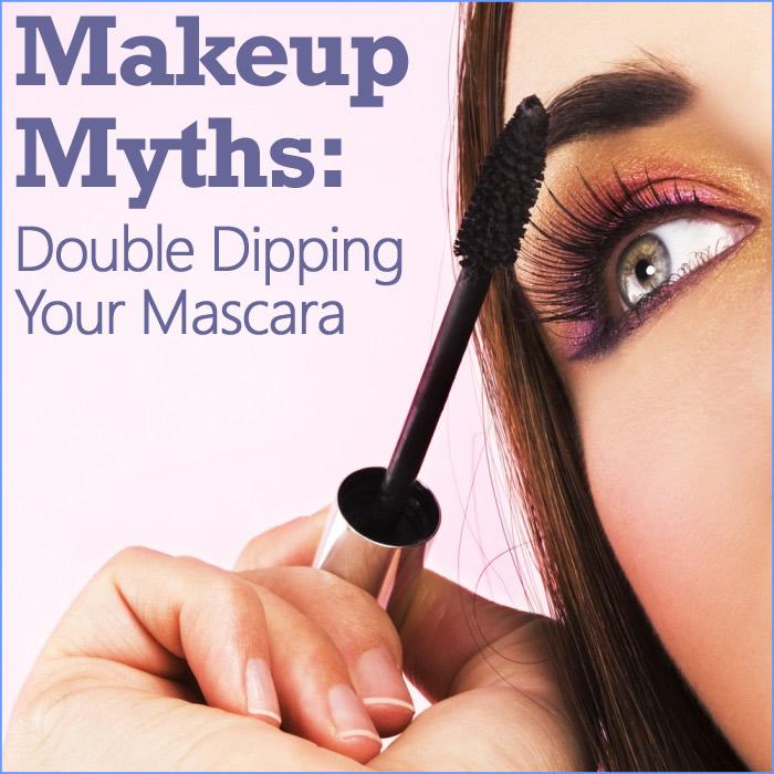 Makeup Myth Double Dipping Your Mascara Woman Eye Makeup Blue
