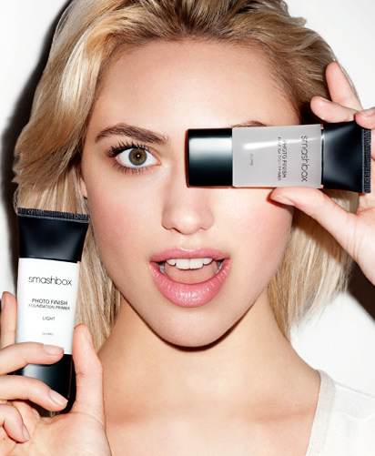 Smashbox Photo Finish Color Correcting Primer Ad Blonde