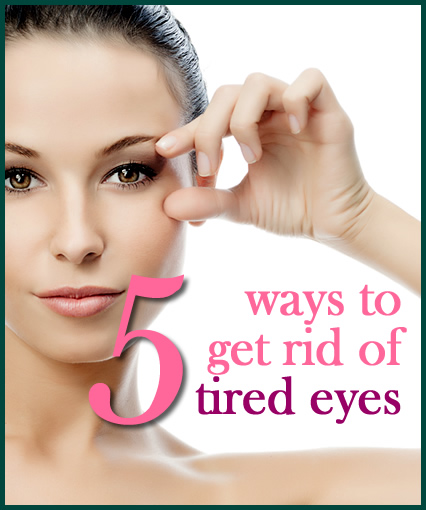 Woman Holding Open Eye Tired Eyes Beauty Skincare Advice