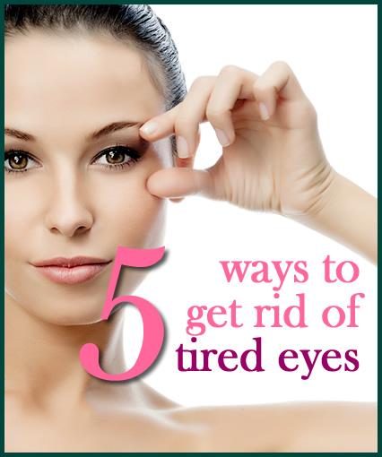Woman Holding Open Eye Tired Eyes Beauty Skincare Advice