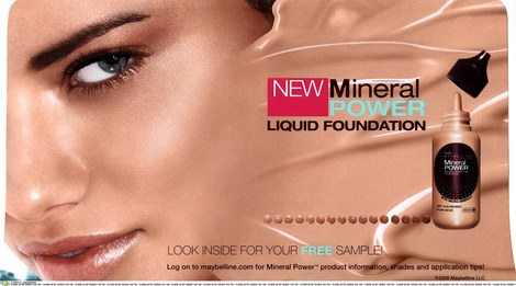 adriana-lima-and-maybelline mineral power liquid foundation review