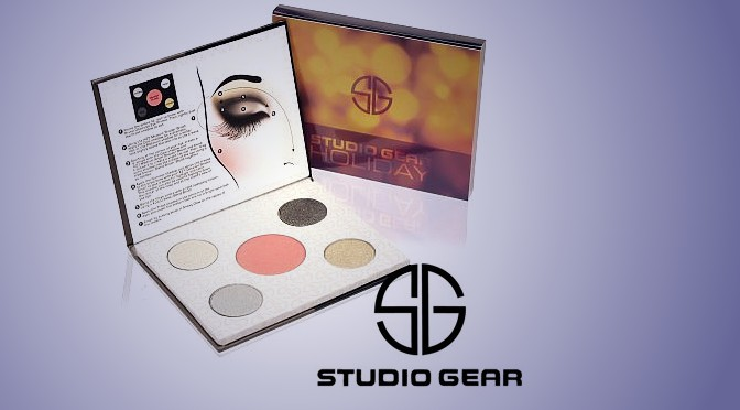 Studio Gear Cosmetics Holiday Smokey Eye Palette Giveaway!