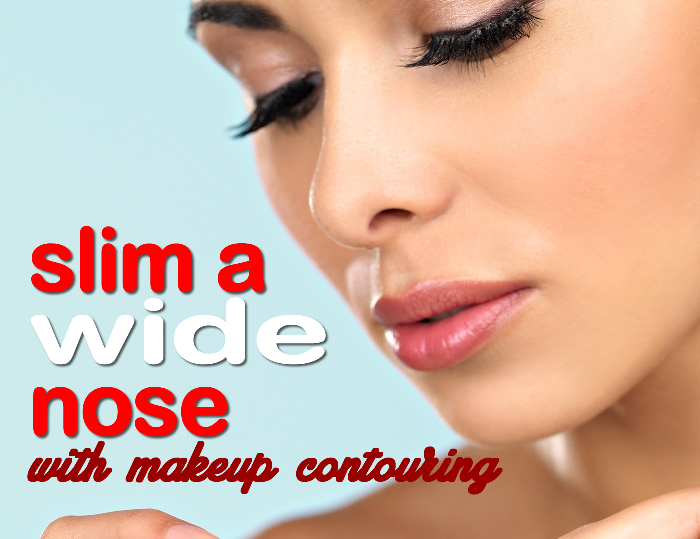 How To Make Your Nose Look Smaller With Makeup Makeup Tips Nose Makeup  Video Images