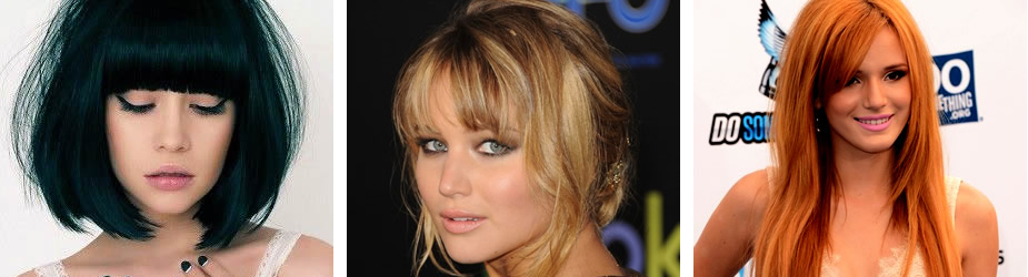 Three Gorgeous Ways to Wear Bangs