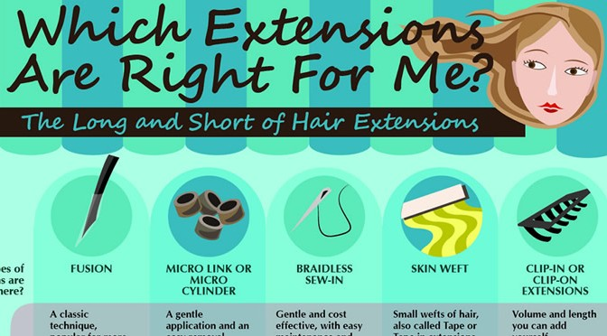 Hair Extension Types 101