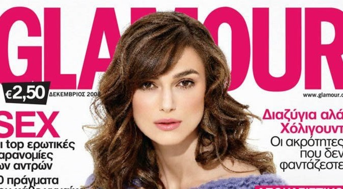 Keira Knightley's Glamourous Hair and Makeup