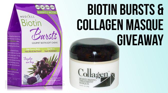 Biotin Bursts Collagen Mask Giveaway
