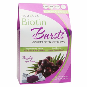 neocell biotin bursts hair supplements