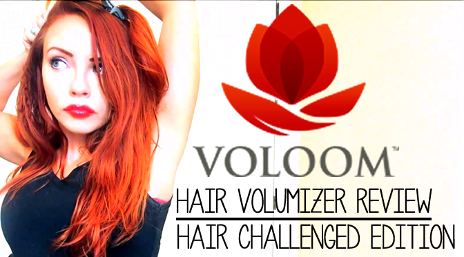 (Hair-Challenged) #VOLOOM Volumizing Hair Iron Review [VIDEO]