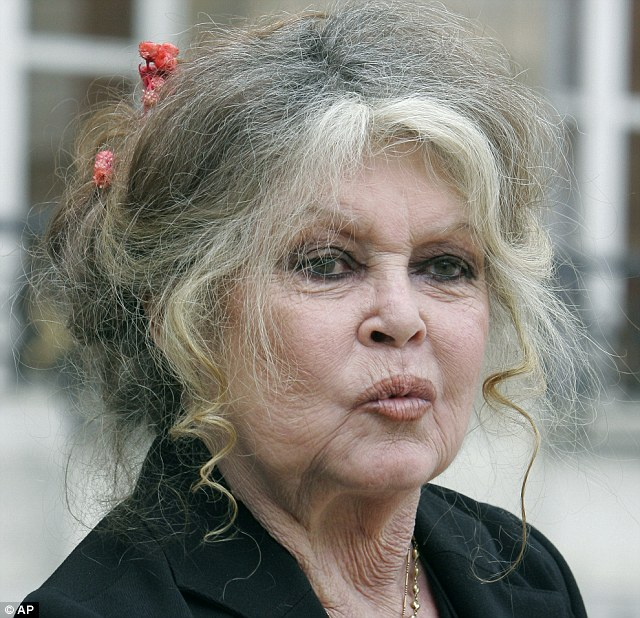 Brigitte Bardot Duckface NOW
