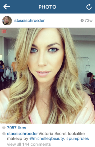 Stassi Schroeder Vanderpump Rules Victoria's Secret makeup