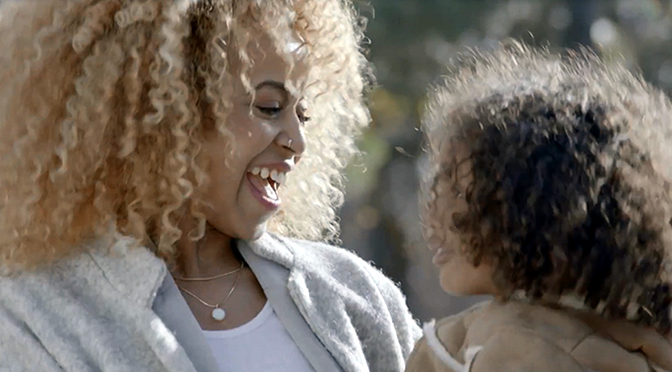 Dove Curly Hair Video Feature