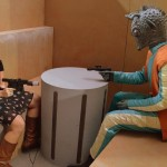 Fan Fest Greedo Scene at the 501st Legion