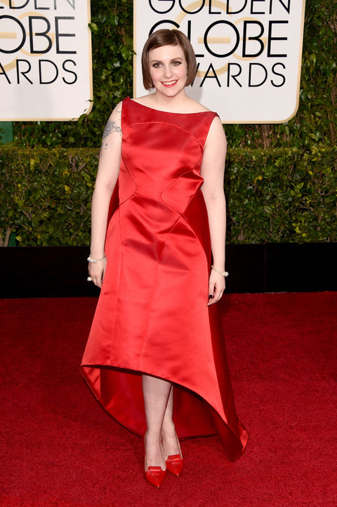 Golden Globes Girls Lena Dunham