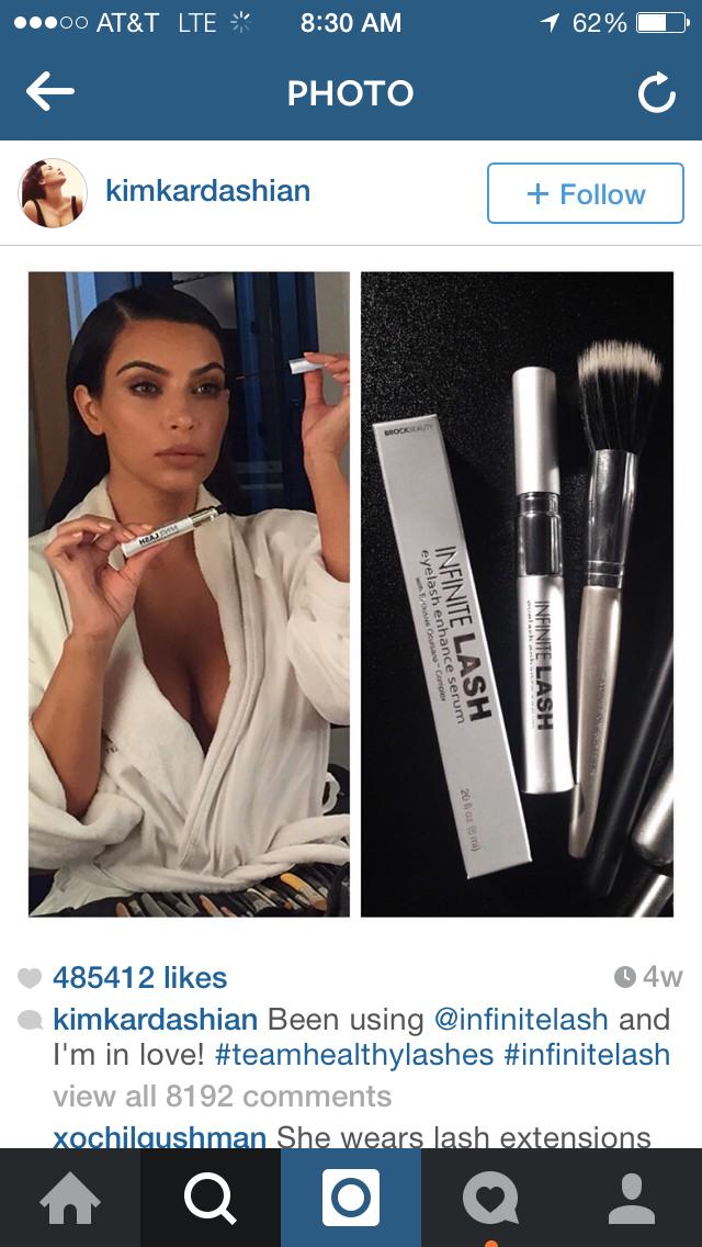 Kim Kardashian Instagram Makeup
