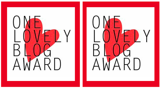 Sassy Dove Got The 2015 One Lovely Blog Award!