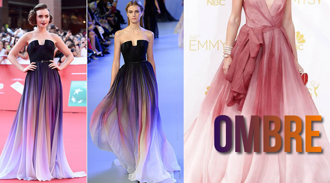 Celebrities in Princess-Worthy Ombre Dresses