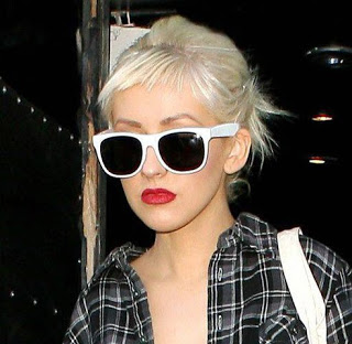 Christina Aguilera Sunglasses Super Sunglasses