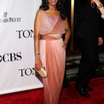 Kerry Washington Emanuel Ungaro Tony Awards Judith Leiber clutch Movado watch