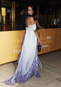 Metropolitan Opera Kerry Washington Ombre Gown