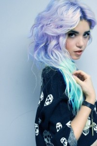 Mermaid Rainbow Pastel Hairstyles