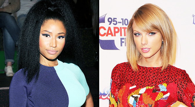 Nicki-Minaj Taylor Swift Twitter War