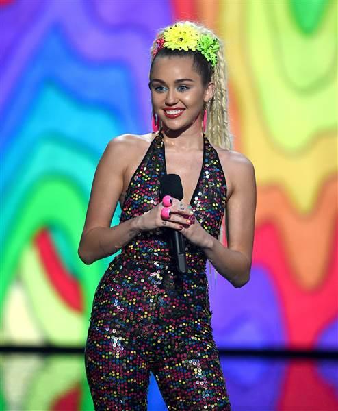 Miley Cyrus MTV VMA Awards 2015 Cher Jumpsuit