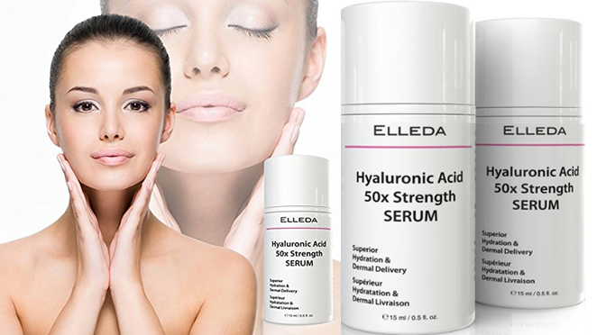 Elleda 50x Strength Hyaluronic Acid Review