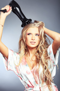 blow-dry-hair-beautiful-blonde-robe-attachment