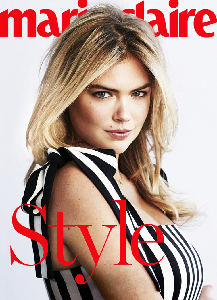 Kate-Upton-Marie-Claire-Hairstyle-How-To-Black-White