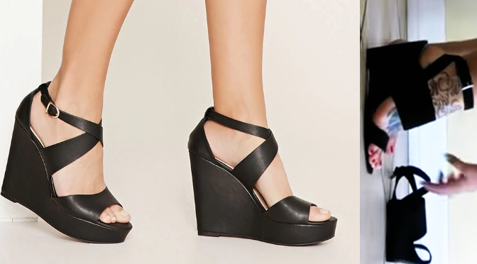 Black Wedge Showcase + The New Shopping App You Need