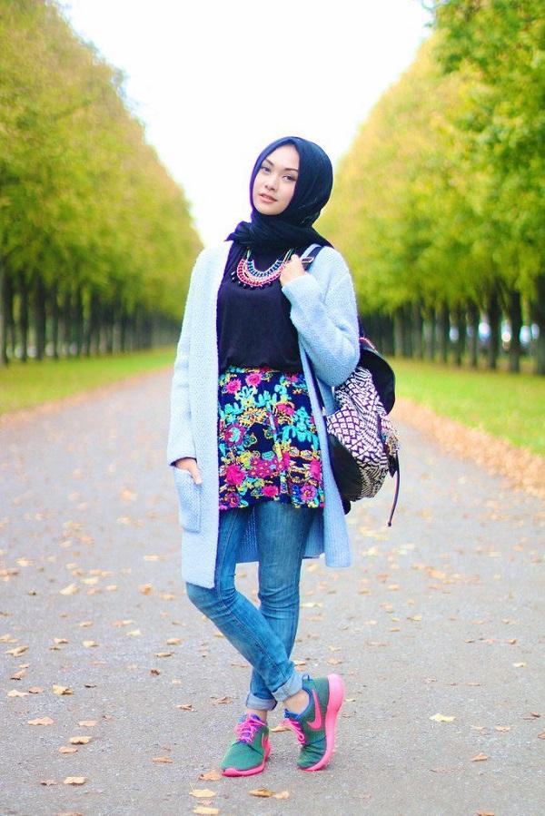 Jeans Hijab Dresses