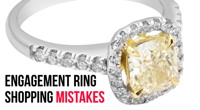 Common Mistakes When Buying a Diamond Engagement Ring