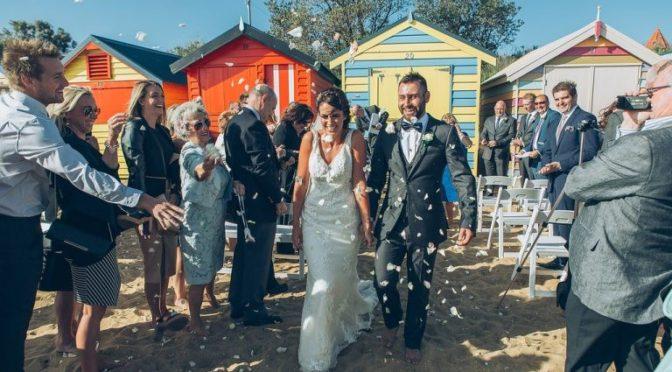 beach-wedding-colored-cabanas