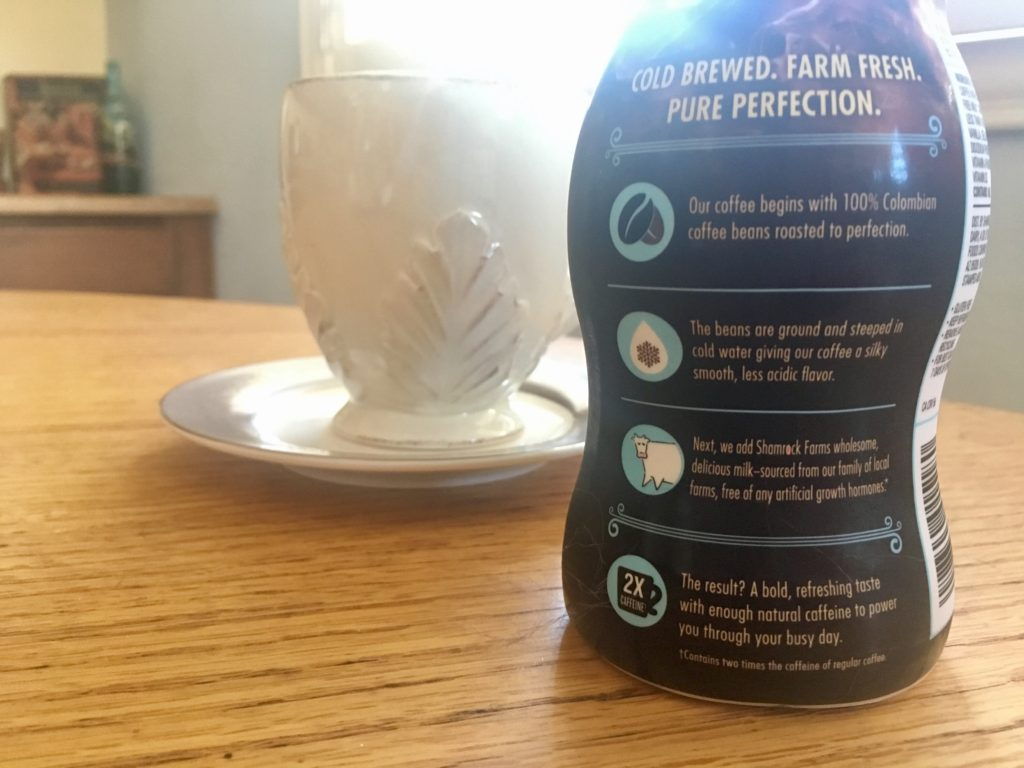 Shamrock Farms cold brew vanilla