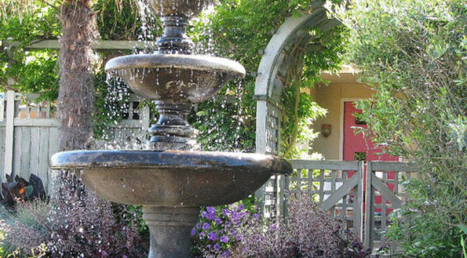 garden fountains ideas, garden