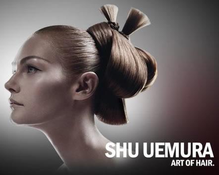 Hair Product Reviews Shu Uemura Art of Hair White Tea Polishing Milk Model