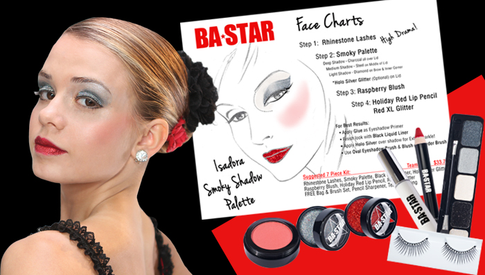 BA Star Face Chart