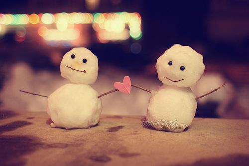 Merry Christmas Adorable Snowmen