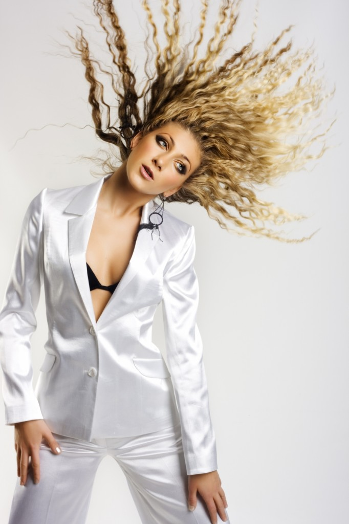 Solutions for Static Hair Blonde Woman Hair Going Crazy