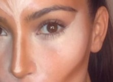 Kim Kardashian's Eye Makeup Video Lesson Finale
