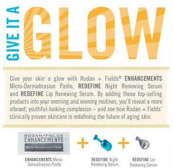Rodan + Fields Give it a Glow mini facial pack