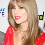 Taylor Swift with Wispy Bangs