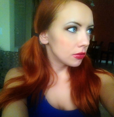 Redhead Problems - Cailin in Pigtails is not Pippy Longstocking