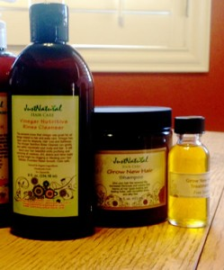JustNatural Products Vinegar and Grow New Hair Treatment